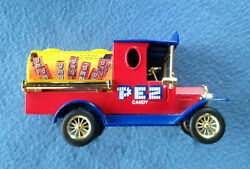 Ford Model T Tanker Truck Pez Candy 124 Diecast Missing Key And Bottom Lock Box