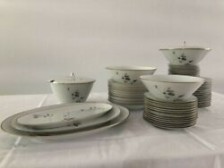 Rosenthal Continental Japanese Quince Gold Trim China Set Germany