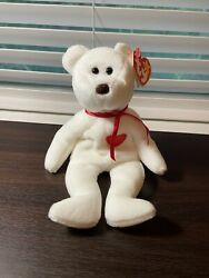 Ty Beanie Baby - Valentino The Bear Pe Pellets 800 Stamp Tush Tag 1993