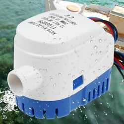Boat Bilge Water Pump Automatic Submersible 12v 1100gph Marine Auto Float Yacht