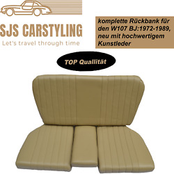 Back Seat Emergency Seats Child's Seat For Mercedes Sl R/w107, Beige/cream Top