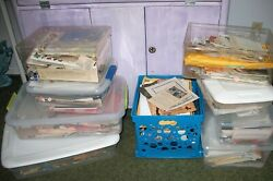 Junk Journal Ephemera Huge Lot Vintage amp; Antique 1 LB One Pound Paper Goods