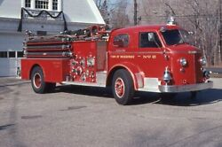 Woodbridge CT Engine 2 1950s American LaFrance Pumper Fire Apparatus Slide
