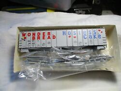 Walthers 50 Ft. Airslide Hopper Wonder Bread 932-3667 Brand New H.o Scale.