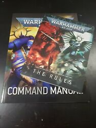 Warhammer 40k 9th Edition Mini Rulebook And command Manual Free Shipping