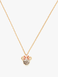 Kate Spade X Disney for minnie mouse Stone pendant Necklace NWT $70.20