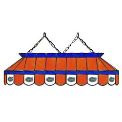 Ncaa Florida Gators Stained Glass 40 Pool Table Light - New - Made In U.s.a.