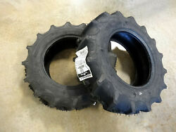Two 6-12 Regency G1 Garden Tractor Lug Tires 4 Ply Tl Traction Field And Road