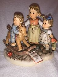Goebel Hummel Figurine 2250 Learning To Share Moments In Time Series