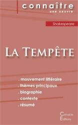 Fiche de lecture La Temp�te de William Shakespeare analyse litt�raire de r�f�re