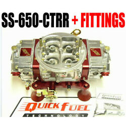 Quick Fuel Ss-650-ctrr 650 Cfm Mech Circle Track Or Road Race Save Big Money