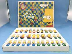 Unknown The Simpsons 3d Chess Puzzle Game Japan Family Game