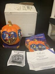 Betty Boop Boop-o-lantern Danbury Mint Lighted W/ Box And Papers