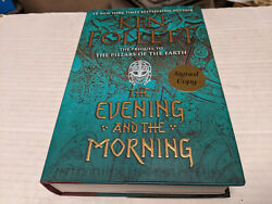 The Evening and the Morning by Ken Follett 2020 Hardcover SIGNED 1st 1st $70.88