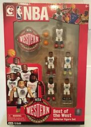 Rare Nba C3 Construction Best Of The West Minifigure 5-pack [2015]