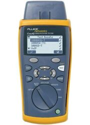 Fluke Networks Ciq-100 Cableiq Main Unit With Soft Carrying Case And Remote Adap