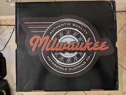 Milwaukee Motorcycle Clothing Co. Mens Milwaukee Classic Mb410 Size 10 D