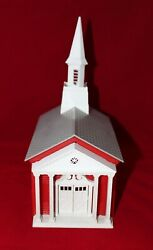 Vintage Littletown Little Town Church 1950's Rare O Scale Train Scenery Building