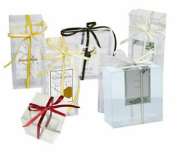 Transparent Candy Gift Box Clear Plastic Cookie Wedding Favor Diy Decoration New