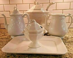 Antique Royalstone China Wedgwood And Co. England C.1900 Servingware Sold Separate