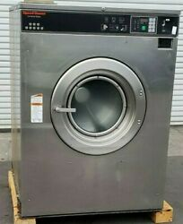 Speed Queen Front Load Washer Coin Op 80lb 3ph 200-240v Serial 0510998347 Asis
