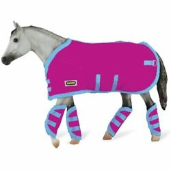Reeves Breyer Tack Blanket amp;amp Shipping Boots Hot Pink Toys Games