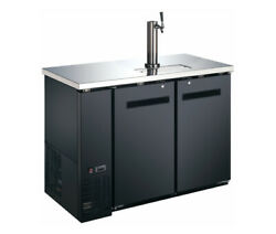 Falcon Food Service 48 Direct Draw Draft Beer Cooler W/ Black Vinyl Exterior