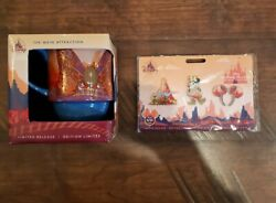 Disney Minnie Mouse Main Attraction Big Thunder Mountain Pins And Mug In Hand🎆