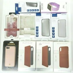 Lot Of 10 Premium Branded Cases And Accessories Iphone 5, Se, 7, X, Xs, Xr, Xs Max