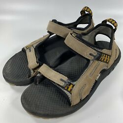Teva Sport Outdoor Hiking Fishing Sandals Tan Suede Adjustable Xpd Mens Size 12