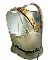 Medieval Knight Cuirass Of The French Cuirassiers, 19th Century Breastplate Ii
