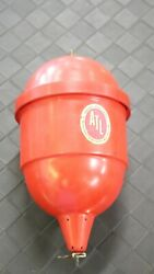 Vintage Atl Accuratest Laboratory Red Comet Fire Extinguisher Water Grenade