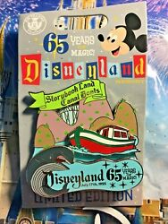 Storybook Land Canal Boats Pin Disneyland 65th 1955 Opening Attraction Disney