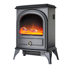22andlsquoandrsquoelectric Stoveportable Electric Fireplace Heater W/realistic Flame750/1500w
