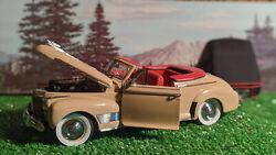 Danbury Mint Diecast Classic Cars 1941 Chevrolet Special Deluxe Convertible