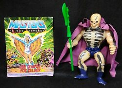 Vintage Scare Glow Skeletor - Masters Of The Universe Action Figure
