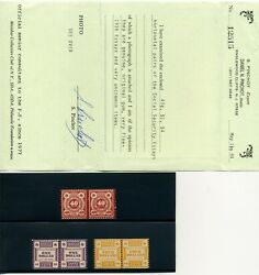 Social Security Essays Minkus Ss13 Ss14 And Ss17 Mint Nh Pairs With Pinchot Cert