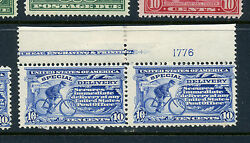 E6 Special Delivery Plate Pair Of Stamps Stamps Nh Stock E6-28