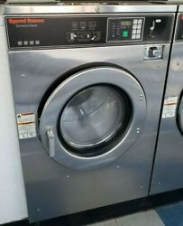 Speed Queen Front Load Coin Op Washer 40lb 208/240v S/n07099009802 [refurb]