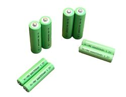 Aa And Aaa Solar Light Rechargeable Batteries Ni-mh 1.2v 150 300 600 1000 Mah