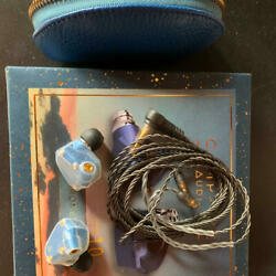 Used Campfire Audio Andromeda Mw10 Cam-5423 Limited Headphones Wave Blue Ear