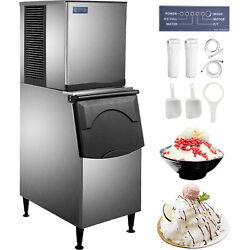 Vevor Flake Ice Machine, Snowflake Maker 500 Lbs/24 H Flake Ice Maker Commercial