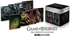 Game Of Thrones Stagioni 1-8 Box Set 4k+uhd Steelbook Limited In Inglese New .cp
