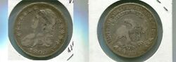 1809 Capped Bust Silver Half Dollar Type Coin Vf 6183n