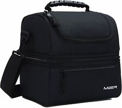 MIER Adult Lunch Box Insulated Lunch Bag Large Cooler Tote Bag for Men Women $23.99