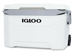Large Igloo Cooler 60 Qt 94 Can Cold 4 Day Rolling Ice Chest Insulated $63.99