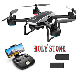 Deerc D50 Rc Drone With 2k Uhd Camera Selfie Headless Hover Quadcopter 2 Battery