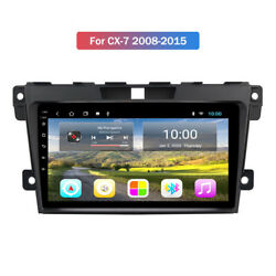 10.1 Hd Wifi Android 9.0 Car Gps Stereo Radio 2+32g For Mazda Cx-7 2008-2015
