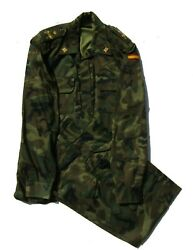 Spanish Army Woodland Camouflage Uniform For General Size 4l 1995