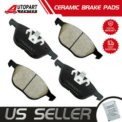 Front Ceramic Disc Brake Pads For 2013 2014 2015 2016 2017 Ford Escape